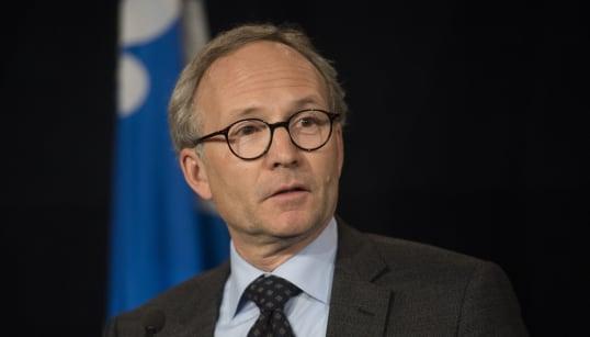 L'ex-ministre libéral Martin Coiteux a un nouveau