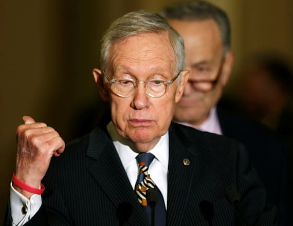 Harry Reid says Trump is damaging the country