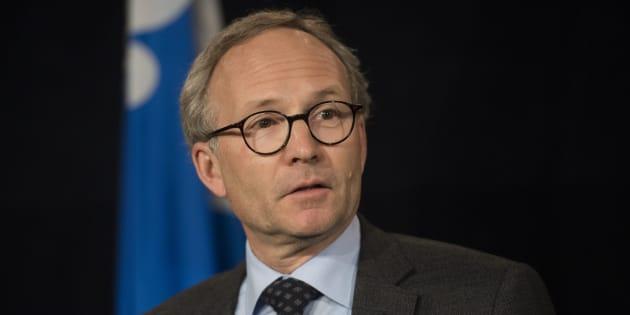 Martin Coiteux a été président du Conseil du trésor, puis ministre de la Sécurité publique et ministre des Affaires municipales et de l'Occupation du territoire.