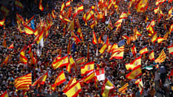 Catalogne: des centaines de milliers de manifestants à Barcelone contre
