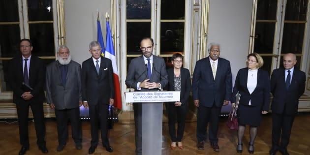 """""""Accord politique"""" sur le référendum d'autodétermination en Nouvelle-Calédonie"""