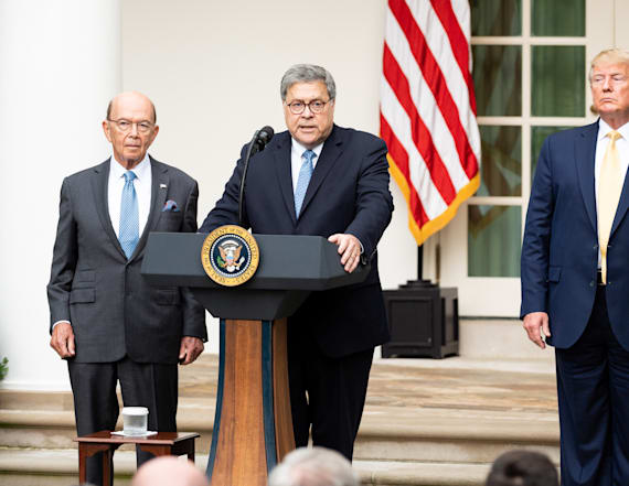 House holds AG William Barr in criminal contempt