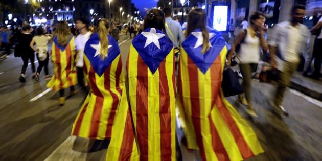 Varias jóvenes en Barcelona