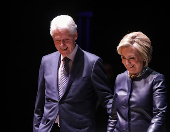 Hillary: Bill 'still cleans up pretty well'