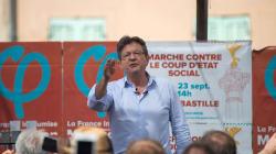 À Marseille, Mélenchon fait applaudir les chaînes d'info mais