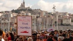 Vêtus en orange, des milliers de manifestants en France affichent leur soutien à