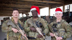 Aussie Troops Send Christmas Day Messages To Loved Ones Back