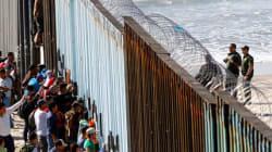 Caravana migrante en la frontera con EU; Tijuana sin capacidad, en Juárez migrantes expuestos al
