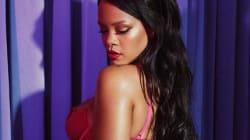 La nueva línea de lencería de Rihanna es todo lo que necesitarás el 14 de