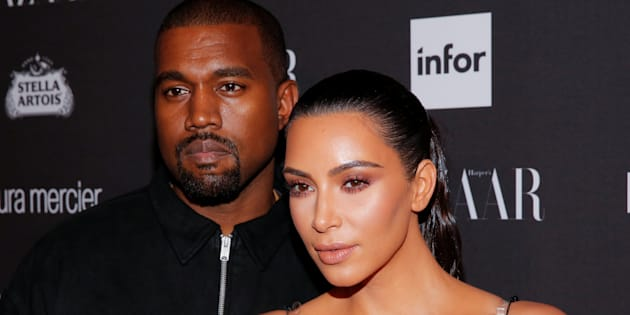 Kanye West et Kim Kardashian à New York le 9 septembre 2016