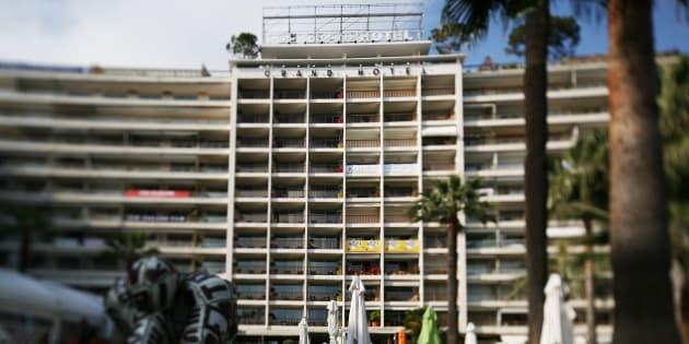La façade du Grand Hôtel de Cannes en 2010.