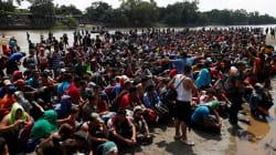 Delincuentes logran infiltrarse en la caravana migrante: