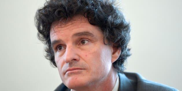 Paul Molac à l'Assemblée nationale en 2012.
