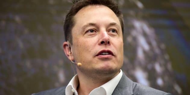 Elon Musk à New York en octobre 2015.