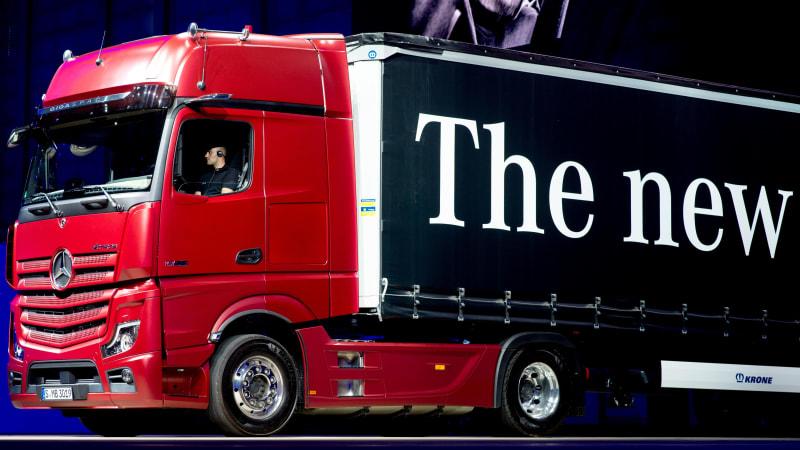 Daimler behält 35% der Anteile an der Lkw-Sparte