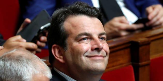 Thierry Solère à l'Assemblée nationale au mois de juillet.