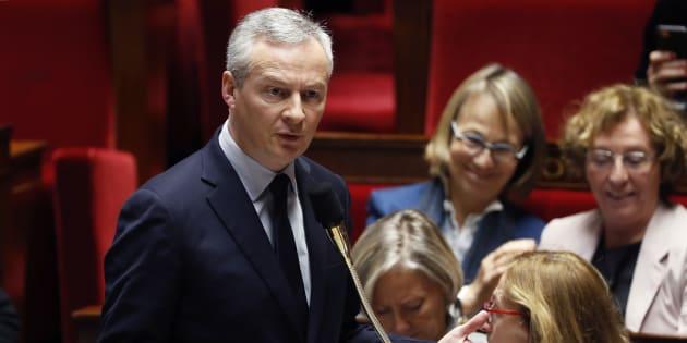 Bruno Le Maire à l'Assemblée nationale le 13 décembre 2017.