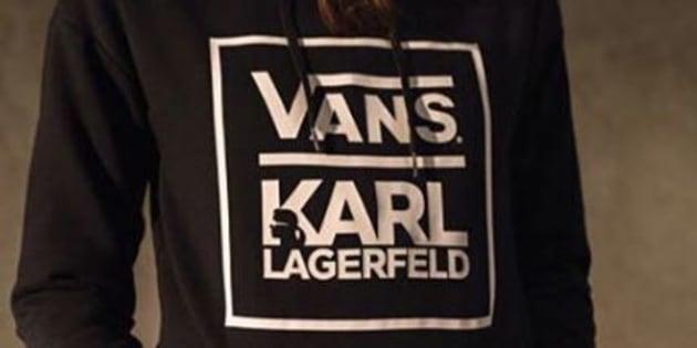 Karl Lagerfeld et Vans signent une collaboration inattendue