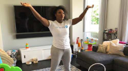 Serena Williams Wondering Where Her Living Room Went Is Every