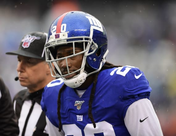 Giants player defends insensitive term he tweeted