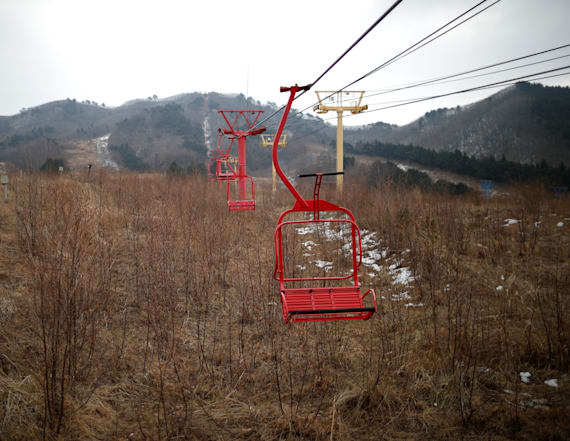 Abandoned ski resort haunts Korea ahead of Olympics
