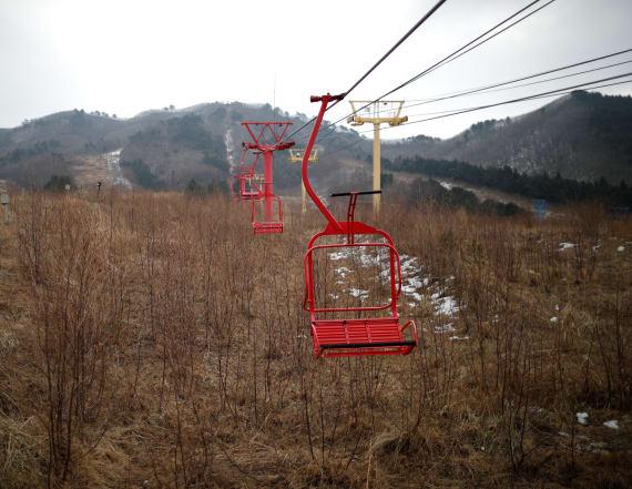 Abandoned ski resort haunts Korea ahead of Olympics