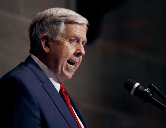 Mo. governor signs bill banning abortions at 8 weeks