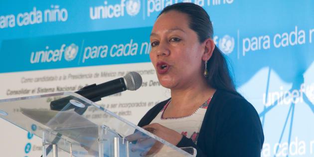 María Luisa Albores, ingeniera agrónoma chiapaneca, especialista en economía social y emprendedurismo, es la titular de la nueva Secretaría de Bienestar.