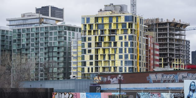 Condominium buildings under construction in Montreal's Griffintown neighbourhood. The city is quickly becoming the new hot spot for Chinese investors, in the wake of foreign buyers' taxes in the Vancouver and Toronto areas, according to Juwai.