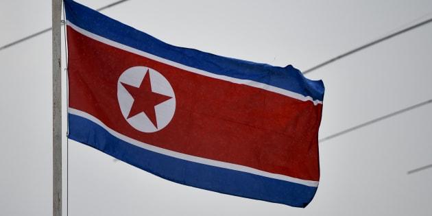 北朝鮮の国旗(イメージ写真)