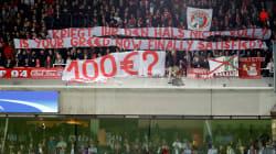Les fans du Bayern Munich ont une façon originale de contester le prix des