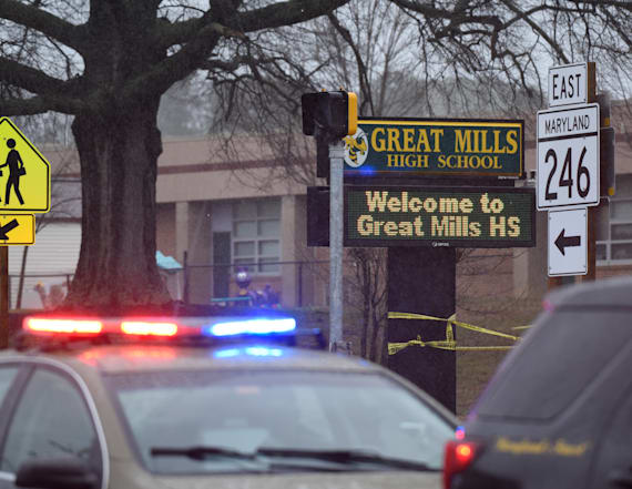 Md. school shooting victim taken off life support
