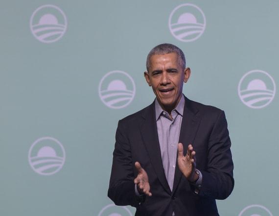Barack Obama cheers 'American Factory' Oscar