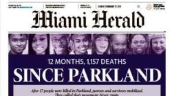 Un an après Parkland, ce journal a recensé 1200 mineurs tués par arme à