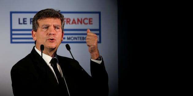 Arnaud Montebourg, en meeting à Nantes le 2 novembre.