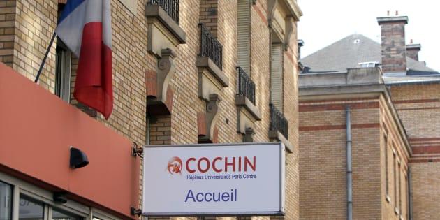 L'hôpital Cochin à Paris.