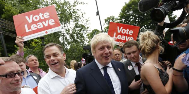 La campagne officielle pro-Brexit sanctionnée pour avoir enfreint le code électoral