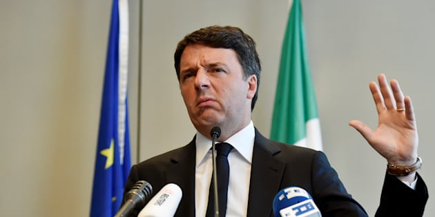 Italy's Former Prime Minister Matteo Renzi speaks during a news conference in Brussels, Belgium April 28, 2017. Reuters/Eric Vidal