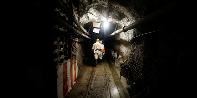 About 900 miners trapped underground in S