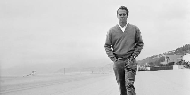 Paul Newman, master of the chinos, circa1958.