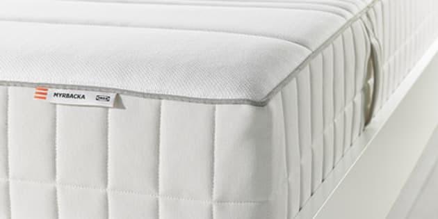 60 millions de consommateurs a test des matelas le meilleur rapport qualit prix vient d 39 ikea. Black Bedroom Furniture Sets. Home Design Ideas