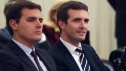 Casado y Rivera se alían para votar en contra de los objetivos de déficit de