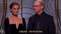 Bless Natalie Portman For Dragging The All-Male Director Category At Golden