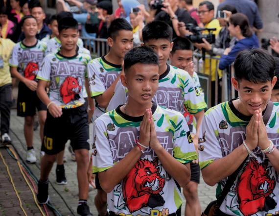 Thai soccer team recounts incredible survival