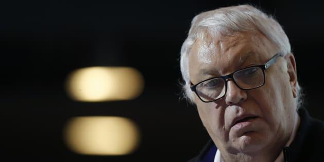 Gerard Filoche, lors d'un débat sur l'écologie à Paris, le 15 décembre. REUTERS/Christian Hartmann