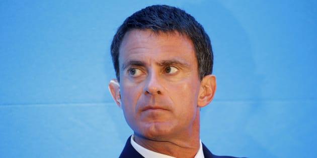 Manuel Valls, à Paris le 3 novembre.