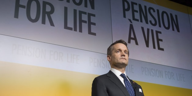 Veterans Affairs Minister Seamus O'Regan is seen during an announcement at National Defence head quarters in Ottawa on Dec. 20, 2017.