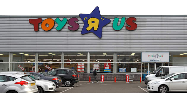 "A Toys ""R"" Us store is seen, in Hayes, Britain Dec. 2, 2017."