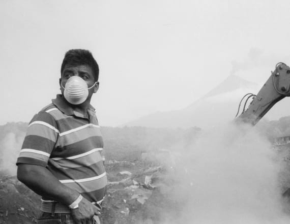 Photojournalist portrays volcano's devastation