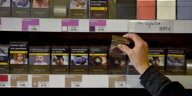 Voici les paquets de tabac dont le prix va augmenter le 2 juillet